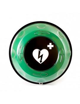Life Saving Defibrillation closet with alarm