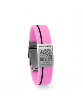 Sport bracelet Pink and Black
