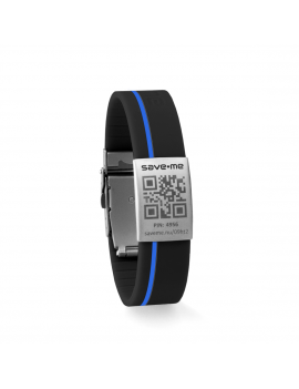 Sport bracelet Black and Blue