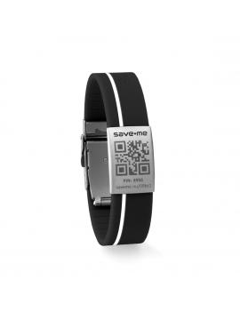 Sport bracelet Black and White